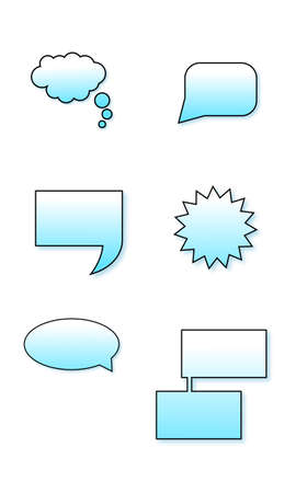 comix: vector bubbles comix