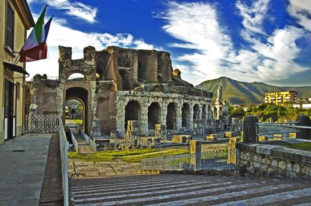 Anfiteatro Campano input Stock Photo - 15547011
