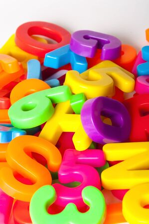 letters and numbers Stock Photo - 15622498