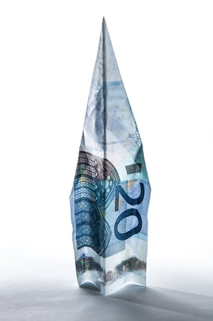 20 euro missile Stock Photo