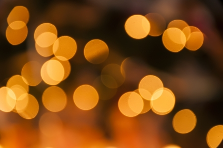 abstract background of blurred lights with bokeh effect Stock Photo - 16780897