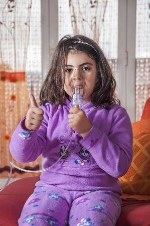 tantrums: bambino che � l'aerosol volentieri e senza capricci