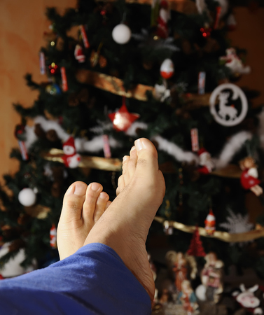 relax at Christmas