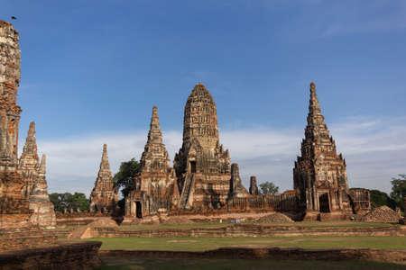 Wat Chaiwatthanaram, Ayutthaya, Thailand. photo