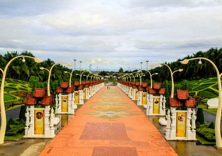 horticultural: Ho Kham Luang in the international horticultural garden, Chiang mai Thailand