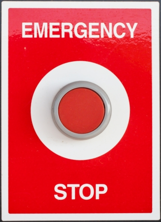 emergency stop button Stock Photo - 15449677