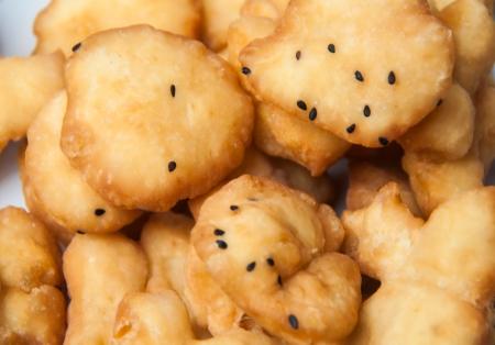 Deep fried dough stick breakfast food Stock Photo