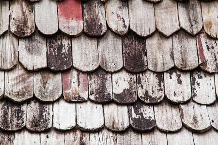 cedar shakes: New red cedar shake roof on a high Sierra mountain cabin