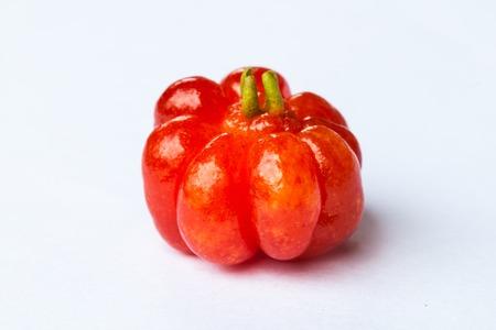 star gooseberry  on white background Stock Photo