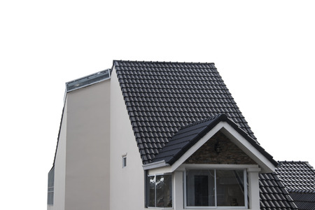 attic: Roof house with tiled roof