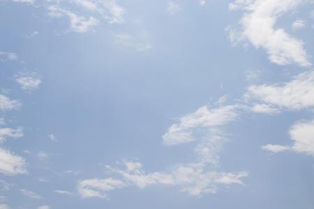 skylight: blue sky with clouds