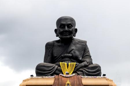 big Buddha, Luang Phor Tuad Buddha in Wat Huai Mongkhon temple Hua Hin , Thailand