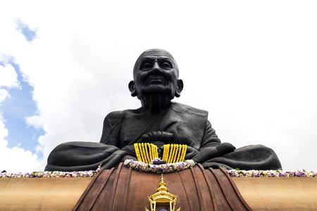 khan: big Buddha, Luang Phor Tuad Buddha in Wat Huai Mongkhon temple Hua Hin , Thailand