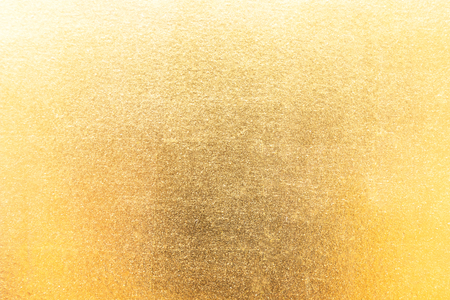 Shiny gold foil texture background