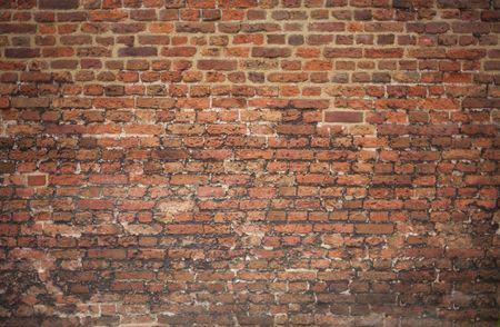 Old Victorian brick wall