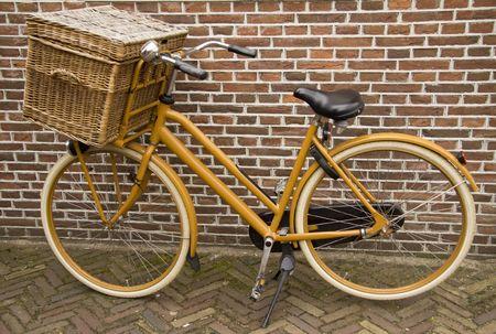 fraue: Alte Fahrrad