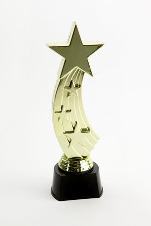 Shinning star award trophy