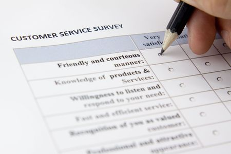 quantitative: Customer service survey