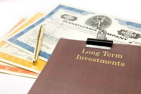 long term: Long term investment portfolio
