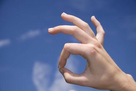 OK hand sign