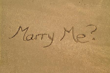 heiraten: Heirate mich?