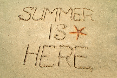 Summer is here Stock Photo
