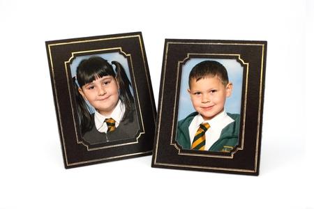 School children portrait photographs