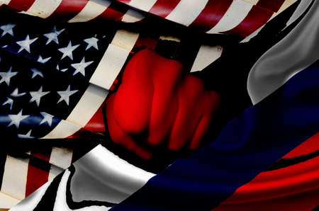 Tension between usa and russia