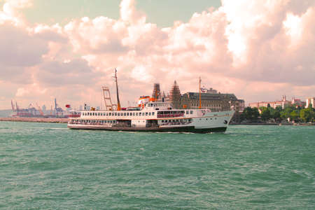 ferry in istanbul bosphorus