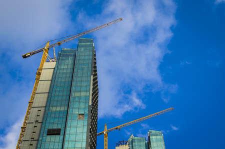 skyscraper construction Editorial