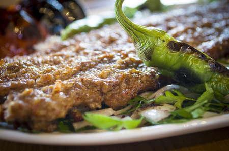 grill: kebab