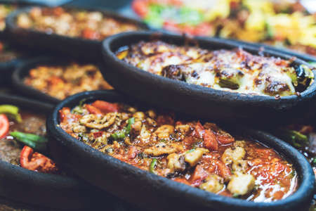 Turkish food Oriental food lover Reklamní fotografie