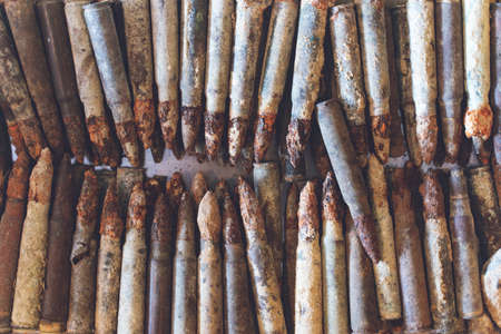 First World War old bullets in Çanakkale, (Gallipoli) Turkey