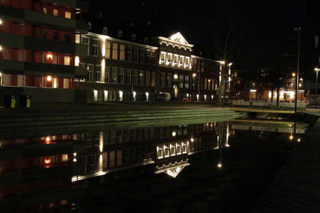 groningen: The Palace Groningen A beautiful water reflection