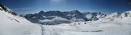 tyrol: Mountain view in tirol tyrol
