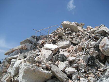 house demolition: demolition