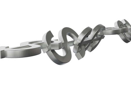 coherence: Dollar Chain 3D Concept Steel