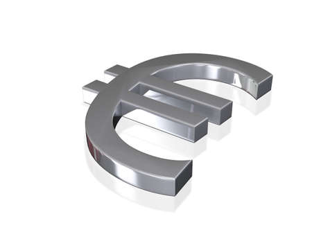 coherence: Euro Sign Silver 3D Concept