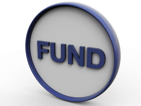 dow: Fund Pure Concept Stock Photo