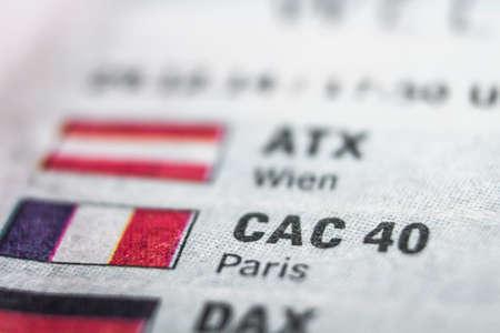 CAC 40 Macro Concept