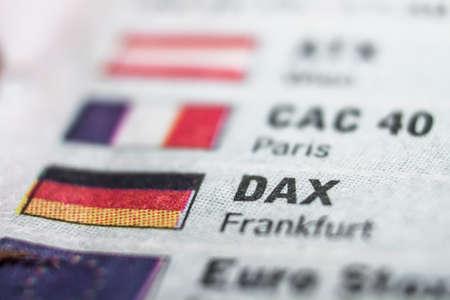 trading floor: Dax Macro Concept