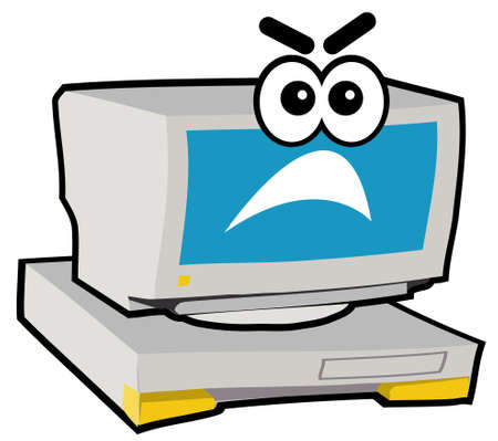 Computer Character - Mad Stock Photo - 283085