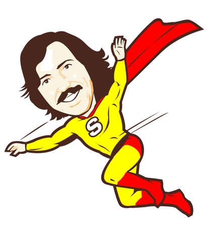 super dad: Superhero Dad Flying Action