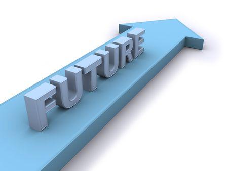 Future direction Stock Photo