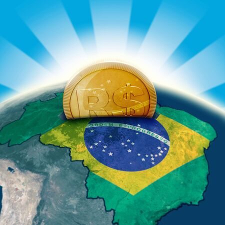 Brazil moneybox photo
