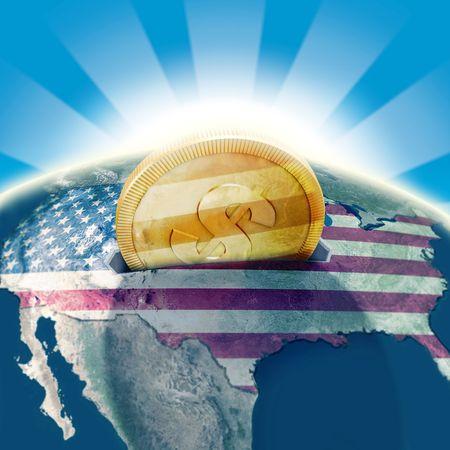 moneybox: USA moneybox