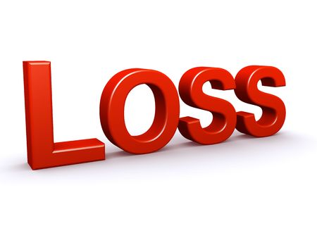 Loss 3D sign photo