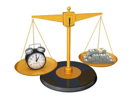 weighing: Time is Money