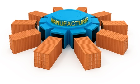 Products development manufacturer Stock Photo - 8464601