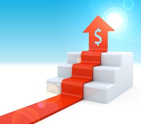 Dollar Arrow upstairs